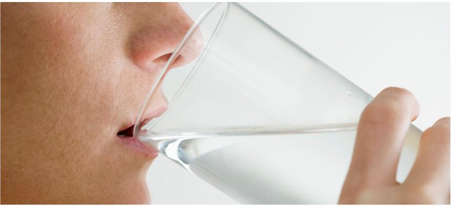 El agua para adelgazar