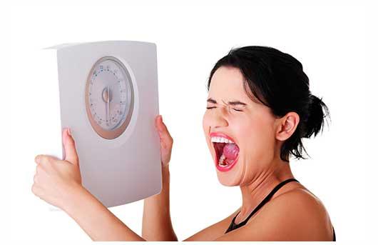 Dificultad para bajar de peso