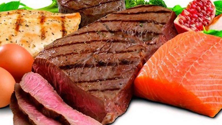 Dieta proteinada menu