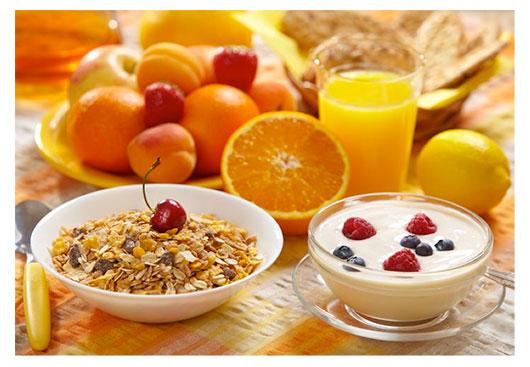 café da manhã para perder peso