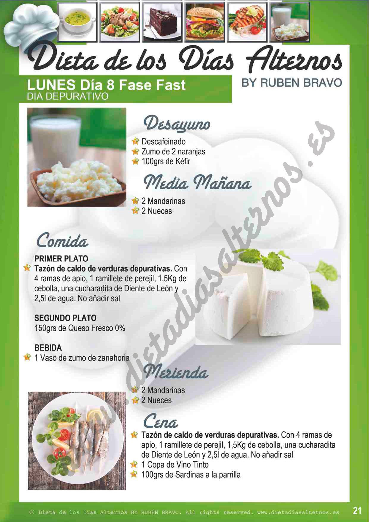 libro de la dieta de los dias alternos pdf