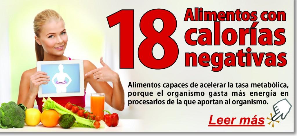 18 alimentos con calor as negativas el blog de la obesidad - Calorias que tienen los alimentos ...