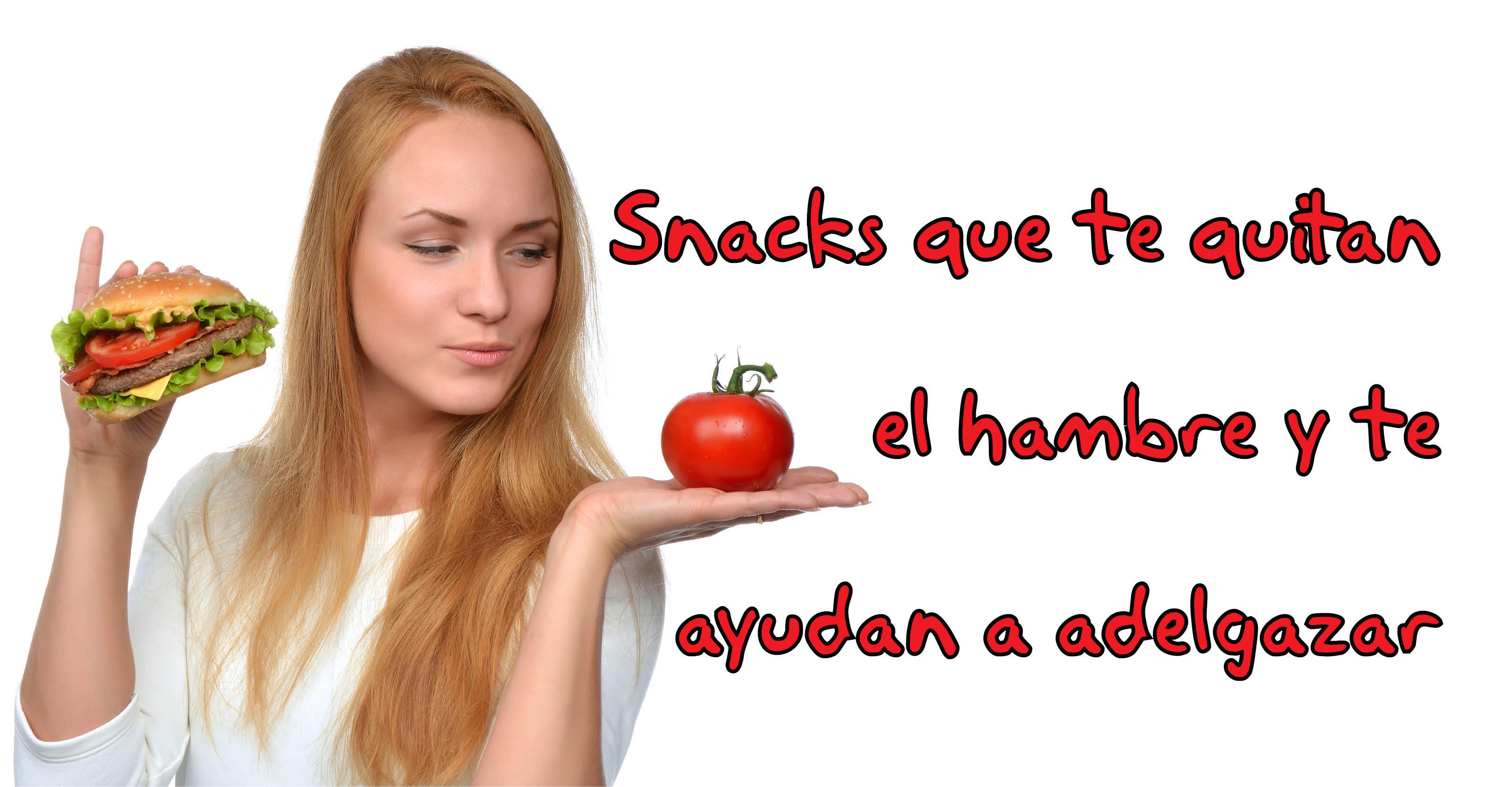 Alimentos que quitan el hambre
