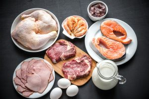 36062915 - ingredients for protein diet