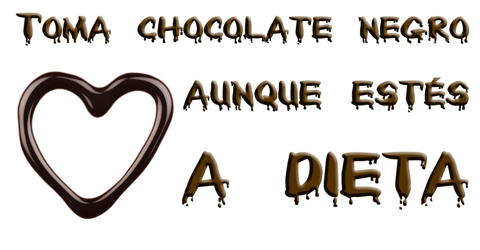 Beba chocolate escuro, mesmo se você estiver de dieta 2