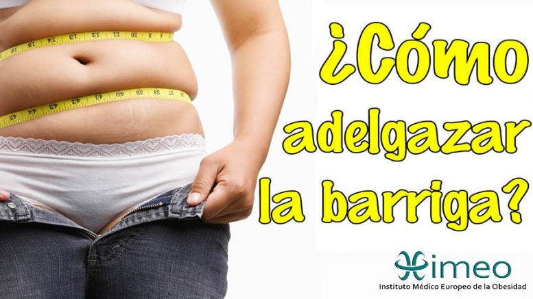 Dieta adelgazar barriga mujer