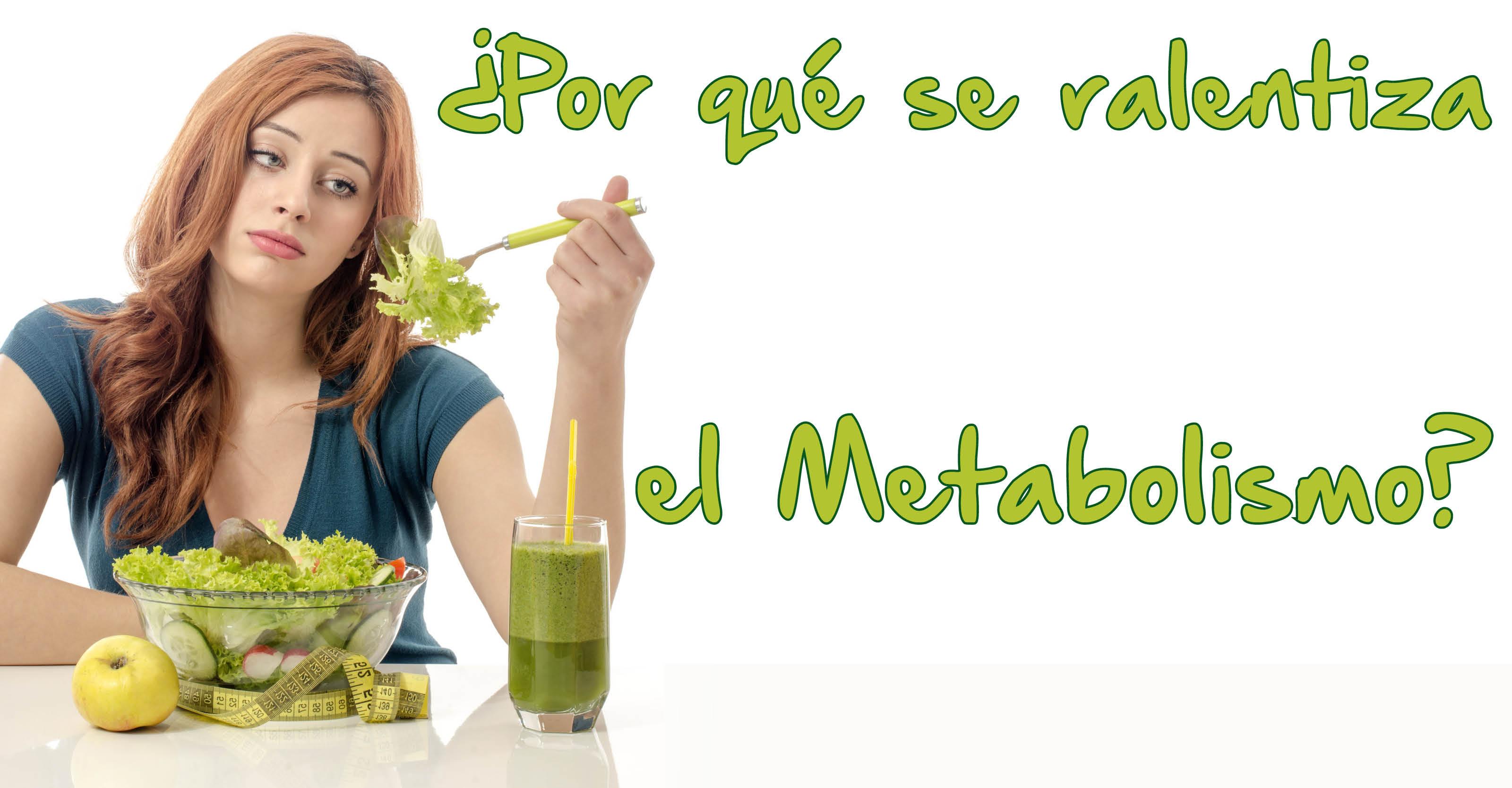 ¿Por qué se ralentiza el metabolismo? - El Blog de la Obesidad